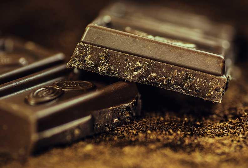 Aliments santé - le chocolat noir