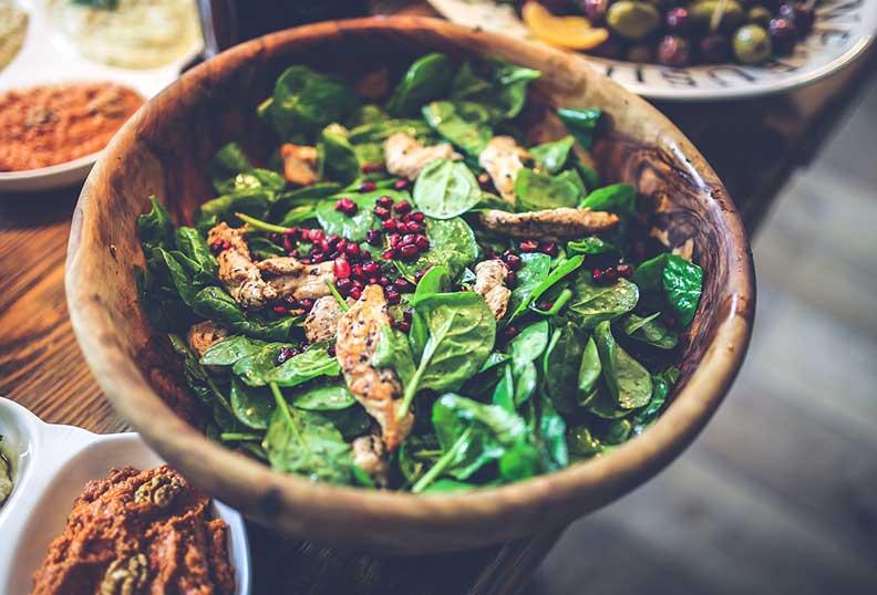 Les épinards comme aliments santé