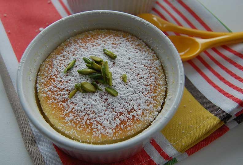 La crème au citron sans lait et sans gluten