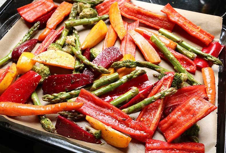 Recettes de légumes au four