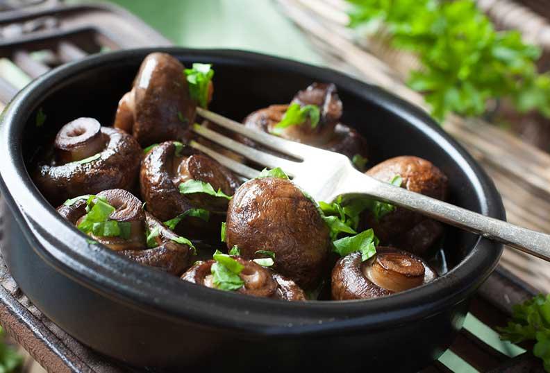 Les champignons sont des Aliments sans gluten