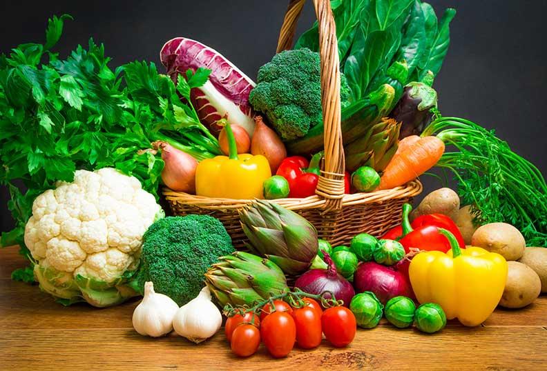 Aliments sans gluten de saison