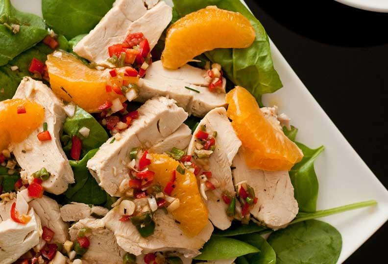 Recettes faciles sans gluten - salade de supers aliments