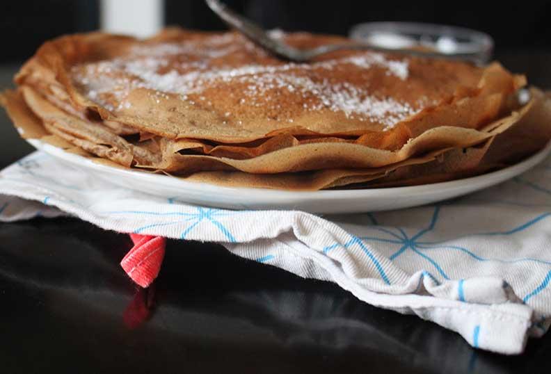 Recette de pancake à la farine d'amande