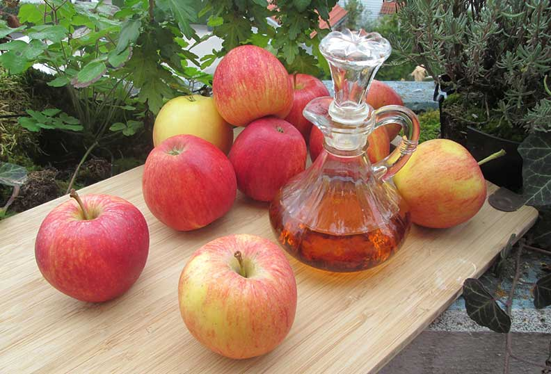 Vinaigre de pomme est bon pour le régime