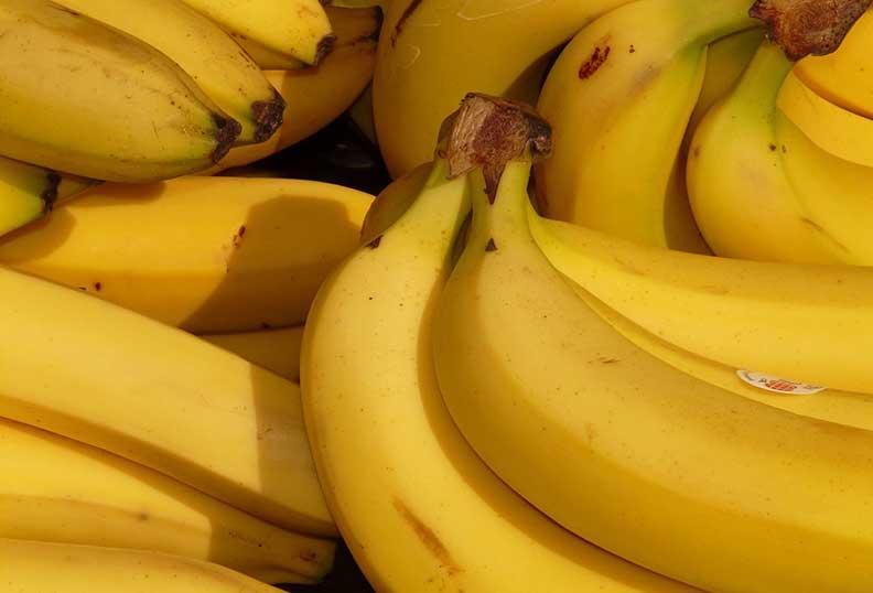 Banane riche en sucre non raffiné