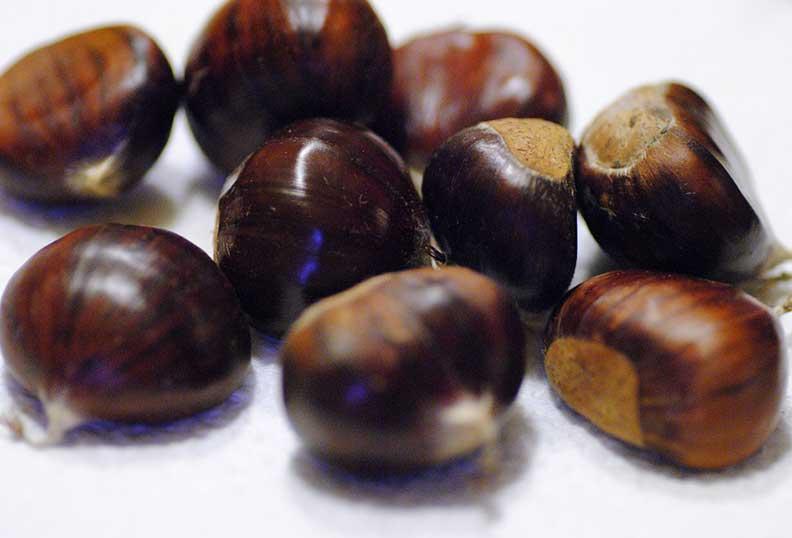 Les châtaignes sont riches en minéraux, vitamines, fibres et sucre non raffiné